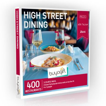 High Street Dining Experience Box