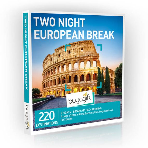 Two Night European Break Experience Box