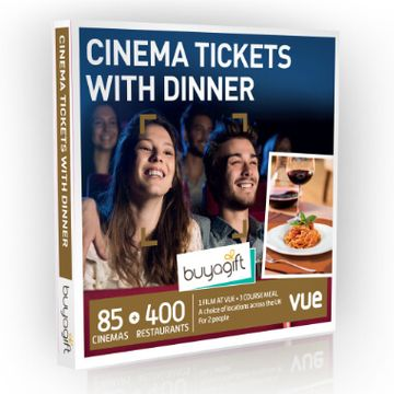 Cinema Tickets With Dinner Experience Box