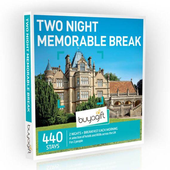 Two Night Memorable Break Experience Box