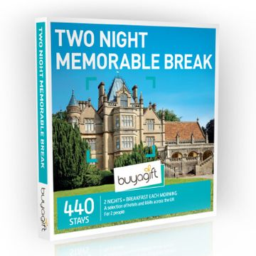 Two Night Memorable Break Experience Box