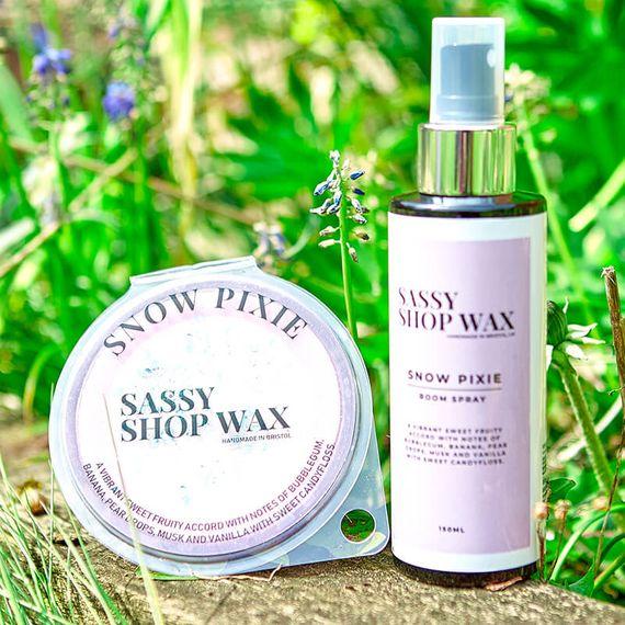 Sassy Wax Scent Duo - Snow Pixie