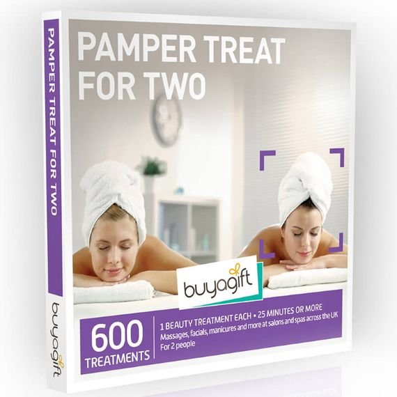 Pamper Treat for Two Experience Box