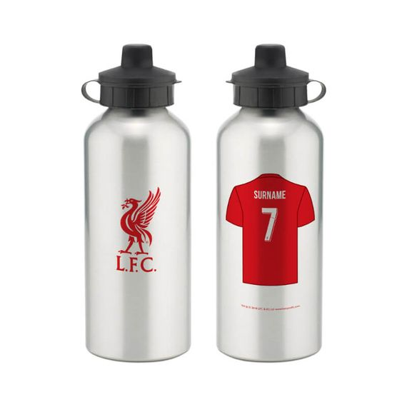Personalised Liverpool FC Water Bottle