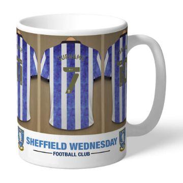 Personalised Sheffield Wednesday FC Dressing Room Mug