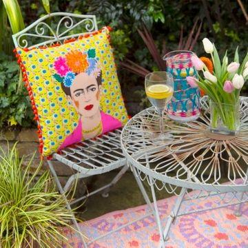 Frida Kahlo Tassel Cushion