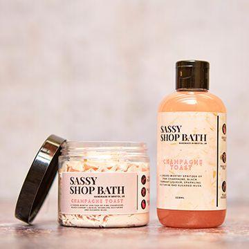 Sassy Wax Bath Duo - Champagne Toast
