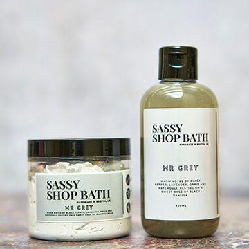Sassy Wax Bath Duo - Mr Grey