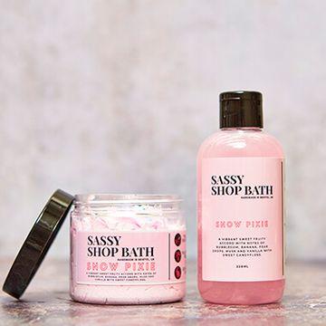 Sassy Wax Bath Duo Snow - Pixie