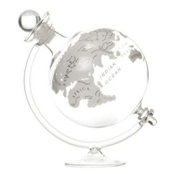 Globe Decanter With Cradle