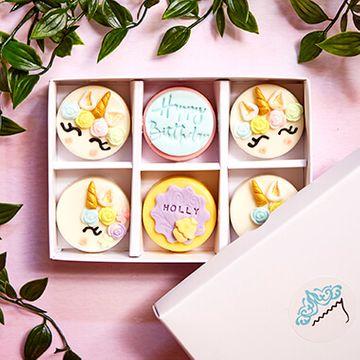 Personalised Unicorn Coated Oreo Gift Box