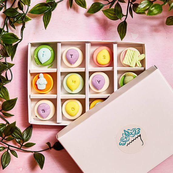 Personalised Mini Birthday Coated Oreo Gift Box