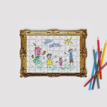 Framed Drawing Jigsaw Puzzle