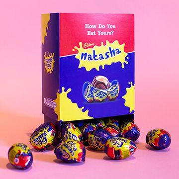 Personalised Favourites Box - Creme Egg