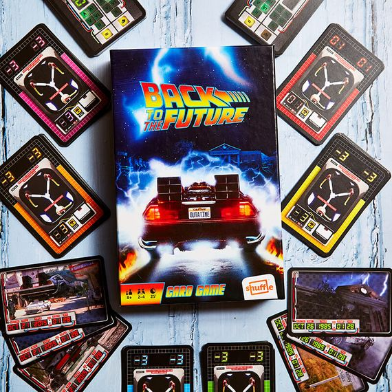 Back to the Future Card Game