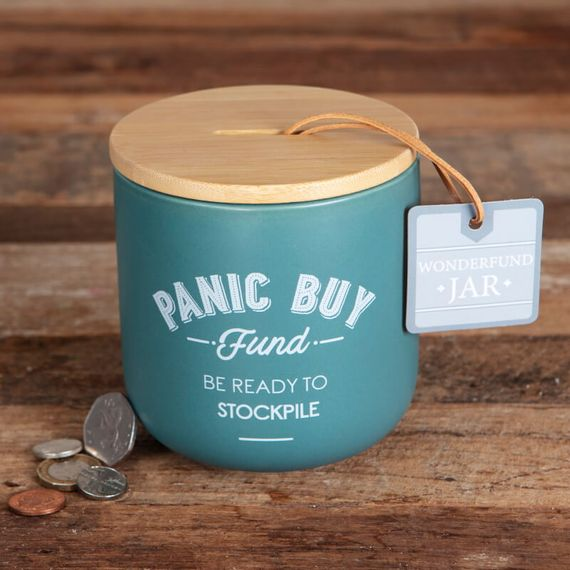 Panic Buy Wonderfund Saver Jar