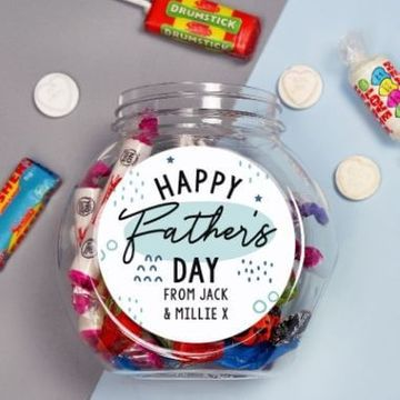 Personalised Father's Day Sweet Jar