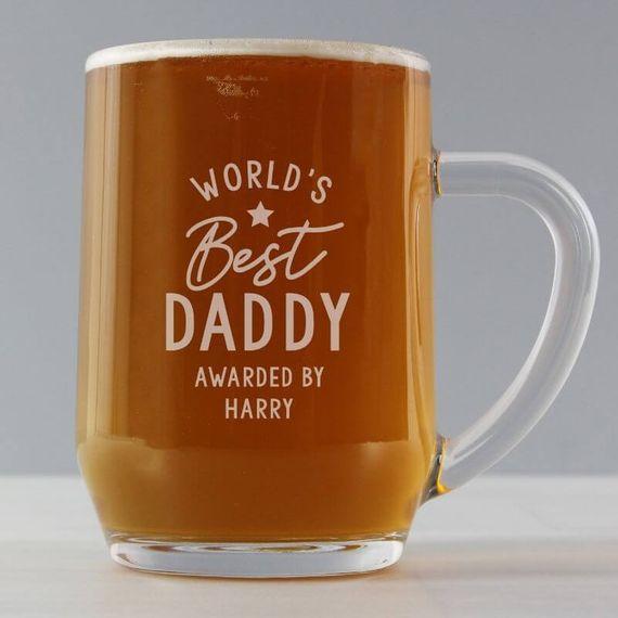 Personalised 'Worlds Best' Tankard