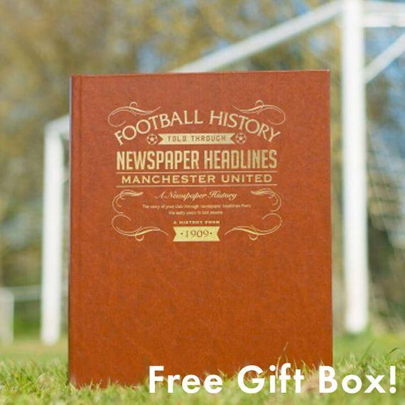 Personalised Football Team History Book