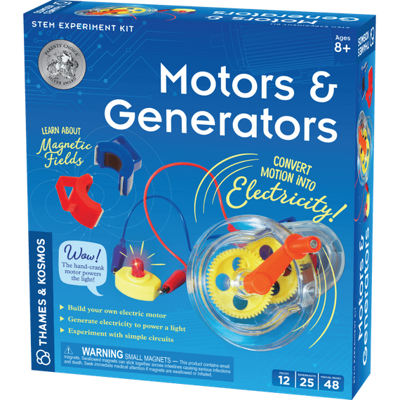 Learn About Motors And Generators Experiment Kit