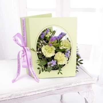 Personalised Floral Greeting Card
