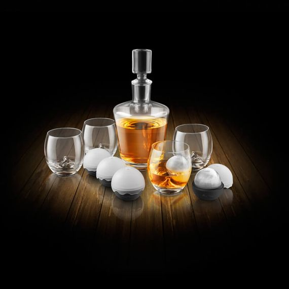 On The Rocks Whisky Decanter Set (10 Piece)