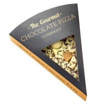 Chocolate Salted Caramel Slice