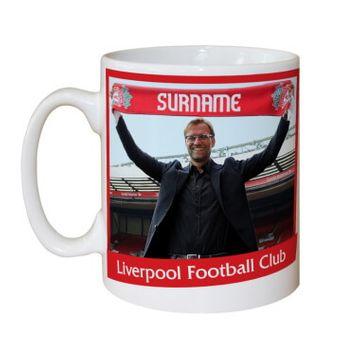 Personalised Liverpool FC Manager Mug