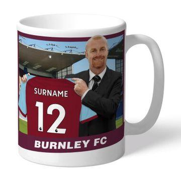 Personalised Burnley FC Managaer Mug