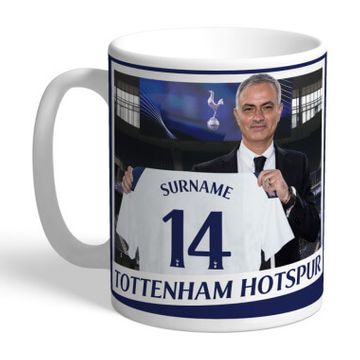 Personalised Tottenham FC Manager Mug