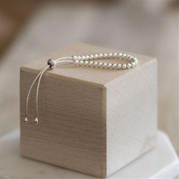 Sterling Silver Adjustable Baby Bracelet