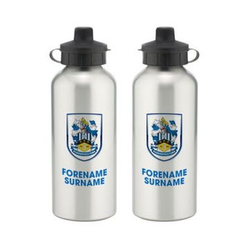 Personalised Huddersfield Town Bold Crest Water Bottle