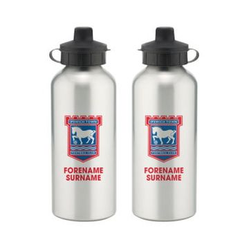 Personalised Ipswich Town FC Bold Crest Water Bottle