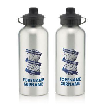 Personalised Birmingham City Bold Crest Water Bottle