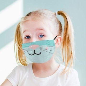 Kitten Nose - Kids Face Mask