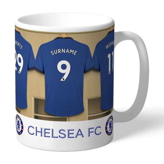 Personalised Dressing Room Mug - Chelsea