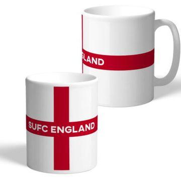 Personalised England Supporters Mug