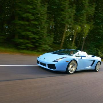 Junior Lamborghini Gallardo Driving