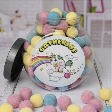 Personalised Unicorn Poop Jar