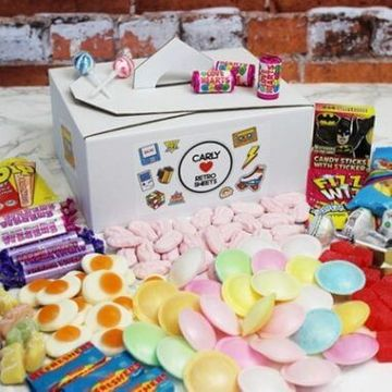 Personalised Retro Sweet Tuck Box