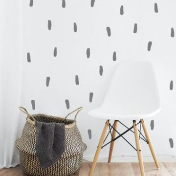 Abstract Lines Wall Decal Stickers