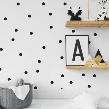 Abstract Polka Dot Circles Wall Stickers