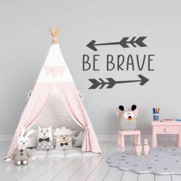 Be Brave Arrows Kids Wall Sticker