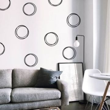 Classic Circles Decal Wall Stickers