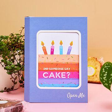 Personalised Love Cake Cake Card