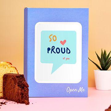 Personalised So Proud Cake Card