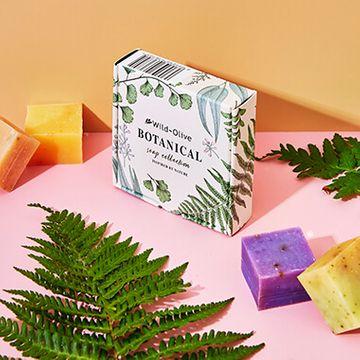 Botanical Handmade Mini Soap Collection