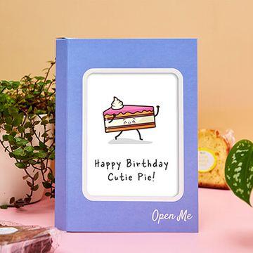 Personalised Birthday Cutie Cake Card