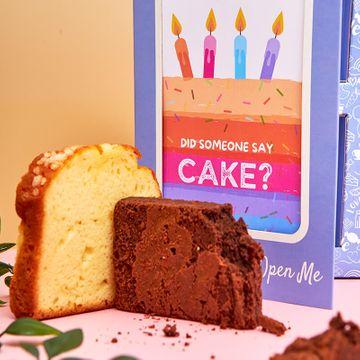 Personalised Fantastic Cake Card