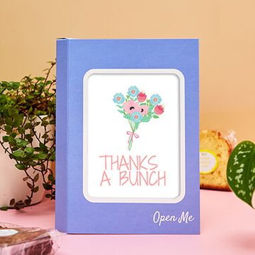 Personalised Thanks a Bunch Cake Card